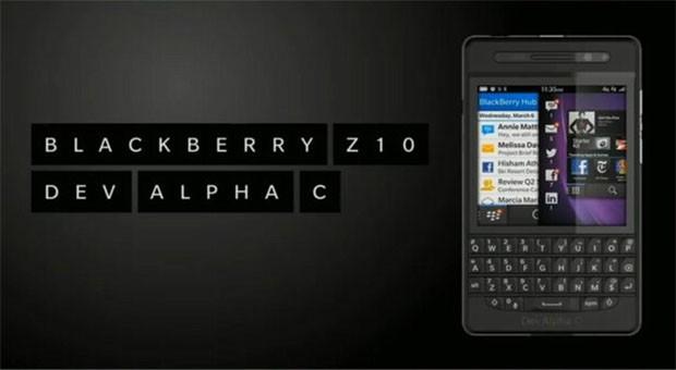 شركة البلاك بيري تكشف عن الهاتف Dev Alpha C بلوحة مفاتيح