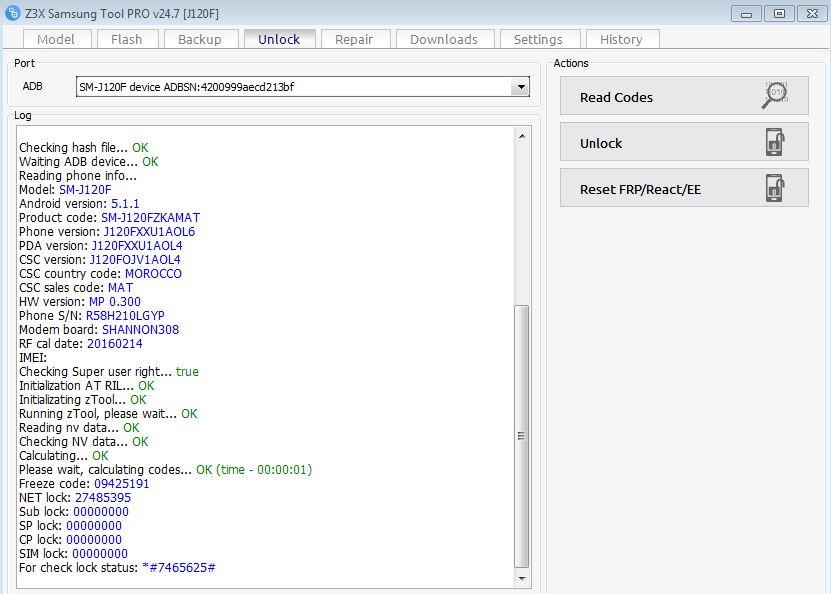 كيفية عمل root وunlock ل j120f 5 1 1 <<<<<<<<<<< - الصفحة 1