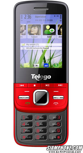 Telego c5_8Mb_CPU Name 6610   Flash Name SF_N25W64