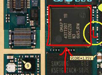 n73  شاشة سوداء جمبر للسنسور البور نفس المشكلة