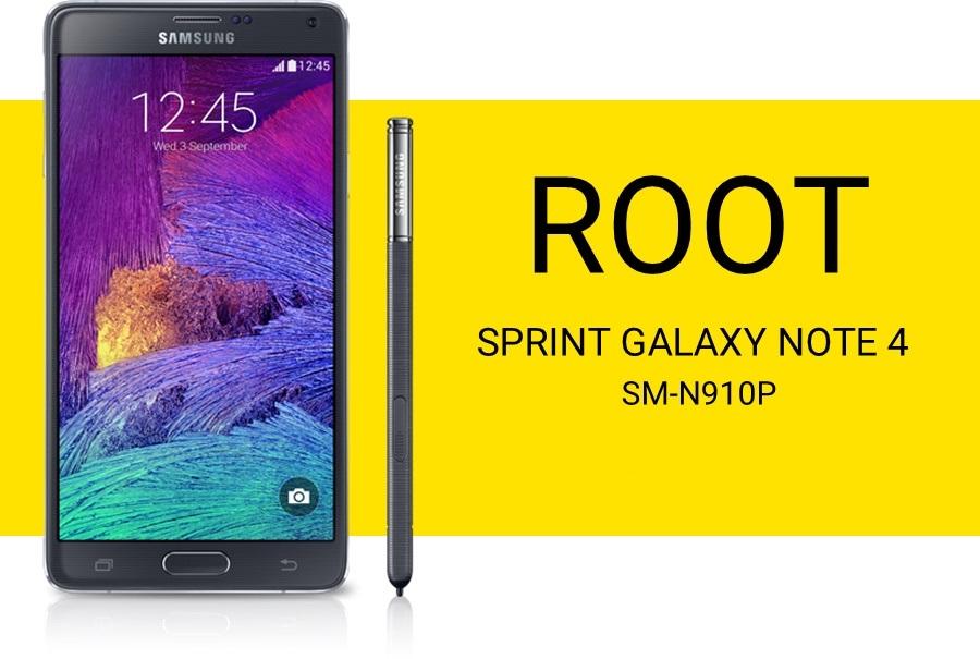 ريكفري ورووت Galaxy Note 4 (Sprint) [N910P] 5.1.1