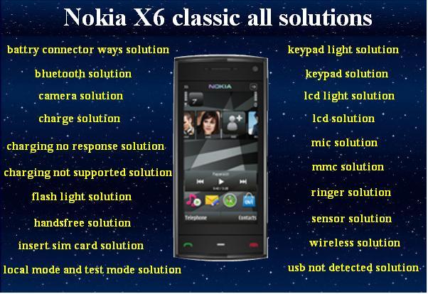برنامج جديد لأعطال النوكيا x6