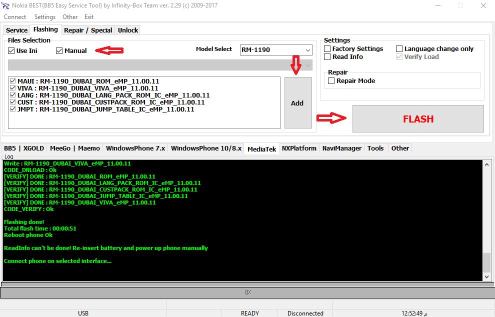 حصريا الاصدار الاخير لغه عربيه Nokia RM-1190 version 11.00.11 و مشكلة  contac sarvec