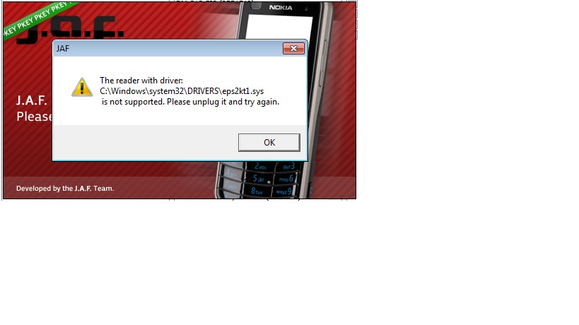 مشكلة بالبرنامج مع ويندوز 7