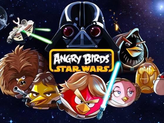 اللعبه Angry Birds Star Wars متوفره الآن