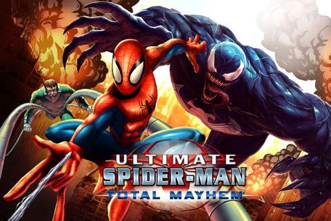 أفضل العاب الأكشن على الأيفون Spider-Man: Total Mayhem
