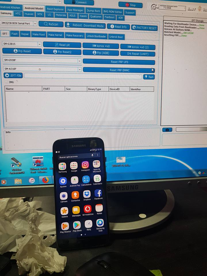 EFT Dongle Success Report tawfikgsm