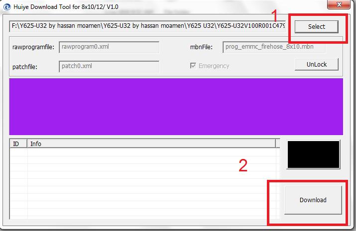 حل مشاكل الجهاز Y625-U32 خاصة dead boot - الصفحة 1
