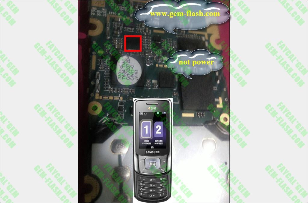 ╣◄ التلفون الاسبوعي GT-b5702 ►╠