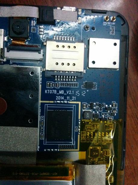فلاشة تاب  KT07B-MB-V2.1  GX7-3Gs  على الجيم