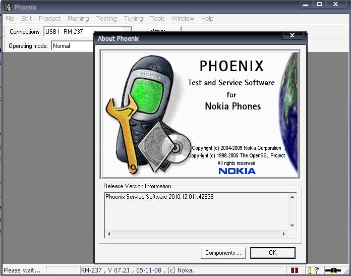 اخر اصدار للفونكس (كراك) Phoenix Service Software 2010.12.11.42838 Cracked