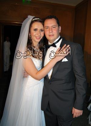 حفل زفاف شقيقة كريم عبد العزيز