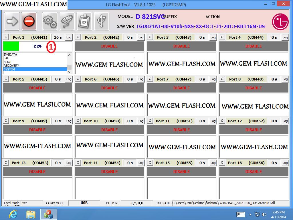 تفليش (lg d821_d820 ( Nexus 5 - الصفحة 1