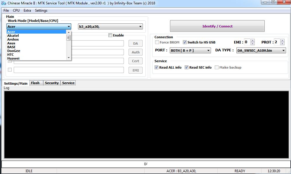 حل مشاكل ملفات البوت (da) على واجهة cm2mt2 ... موضوع متجدد