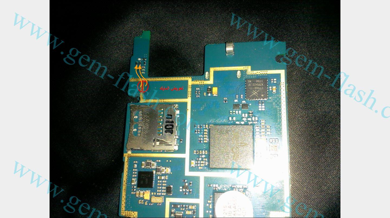 اعطال جهاز سامسونج s5260 شحن كيباد اضاءه شاشه سماعه