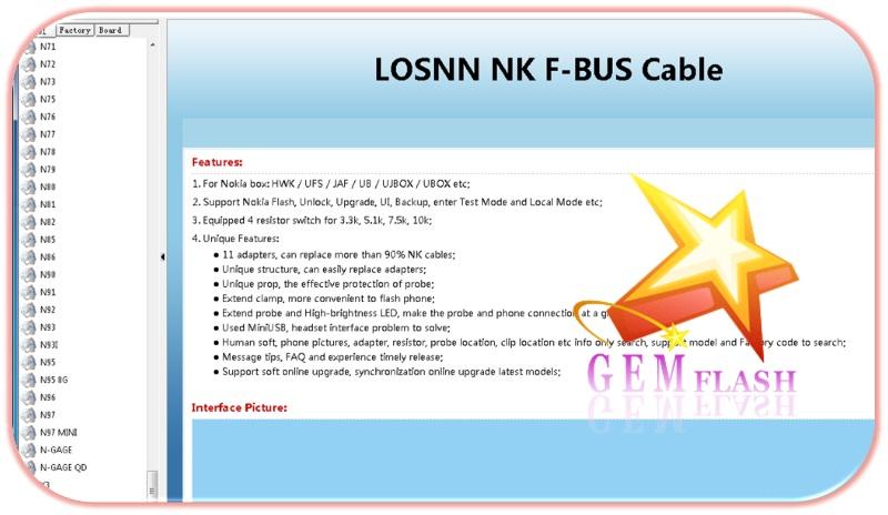 █◄ (  Losnn Clamp v1.2.6  ) رائع جداً لأيجاد Pinout لجميع اجهزة نوكيا ►█