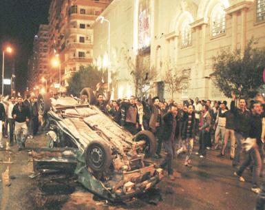 محامى القديسين: الرئيس مرسي يفتح التحقيقات فى تفجيرات الكنيسة بعد تجميدها