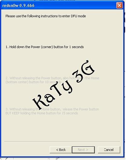 ايفون 3g واقف على علامة الريكوفري