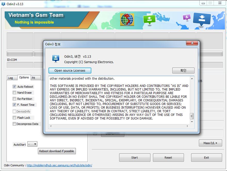 اصدار جديد من =  New Odin3_v3.13.2 لتفليش سامسونغ S10+, S10, S10e...