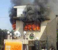 """الصوره التى أذهلت قوات الأطفاء البريطانيه """"مبنى اتحاد الكوره"""""""