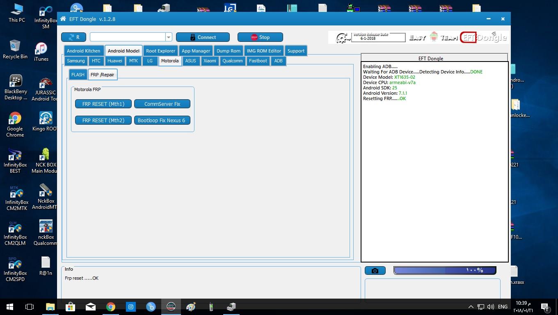 ازالة قفل ال frp لهاتف Moto xt1635 02 - الصفحة 1