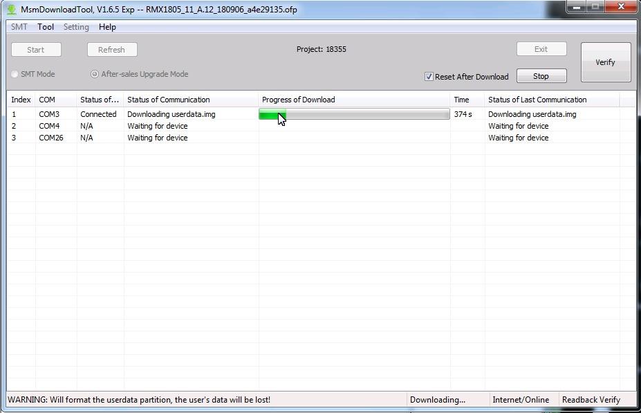 خدمة جديده بالسيرفر OPPO DownloadTool Access for Firmware Flashing Tool