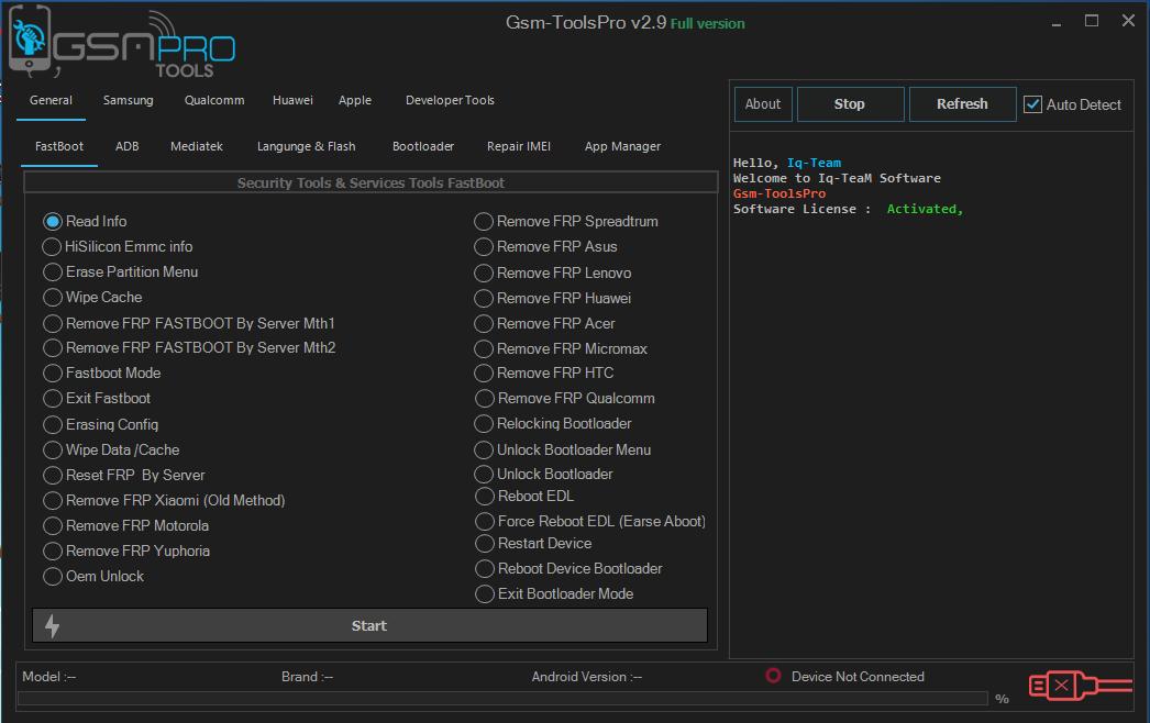 Gsm Tools Pro v2.9 - اصدار مجاني