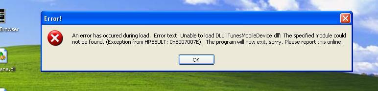 عندي مشكلة مع برنامج iPhoneBrowser