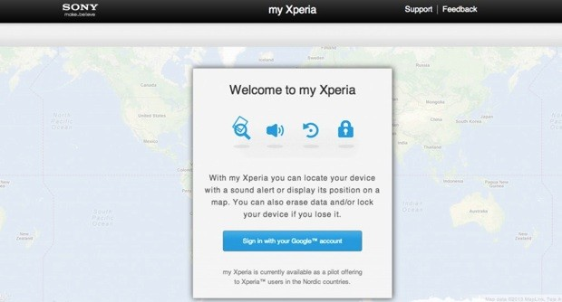 سوني تطلق خدمة 'My Xperia'