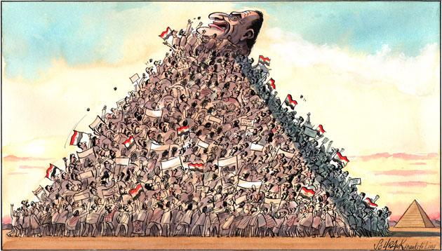 كاريكاتير ,,, مصر بعد 25 يناير