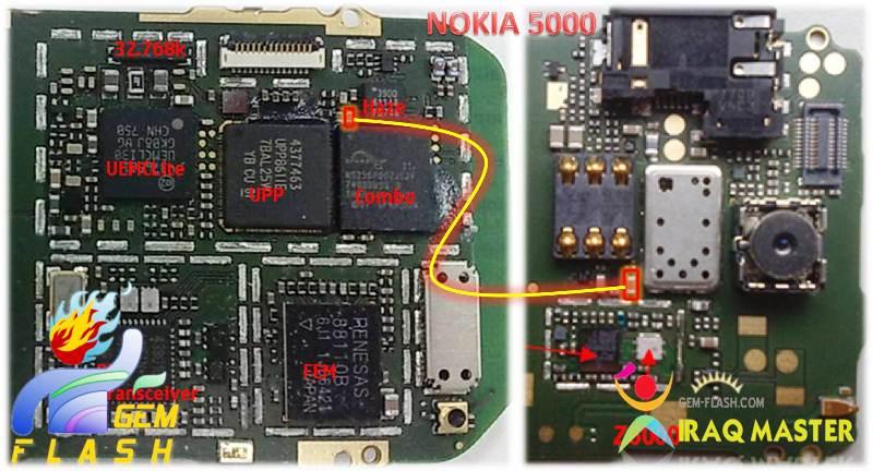 مشكلة في جهاز 5000