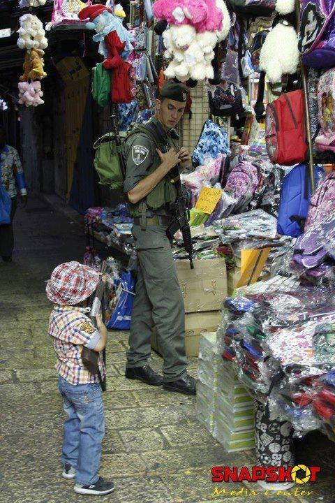 صوره تتحدث عن نفسها فى القدس الشريف