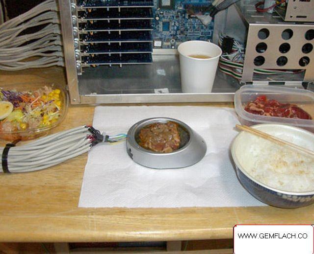 الطبخ على الكمبيوتر عبر الـ usb