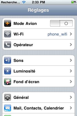 أيفون 3gs لا يريد أن يعطي الشبكة مشكلة عوييييييصة