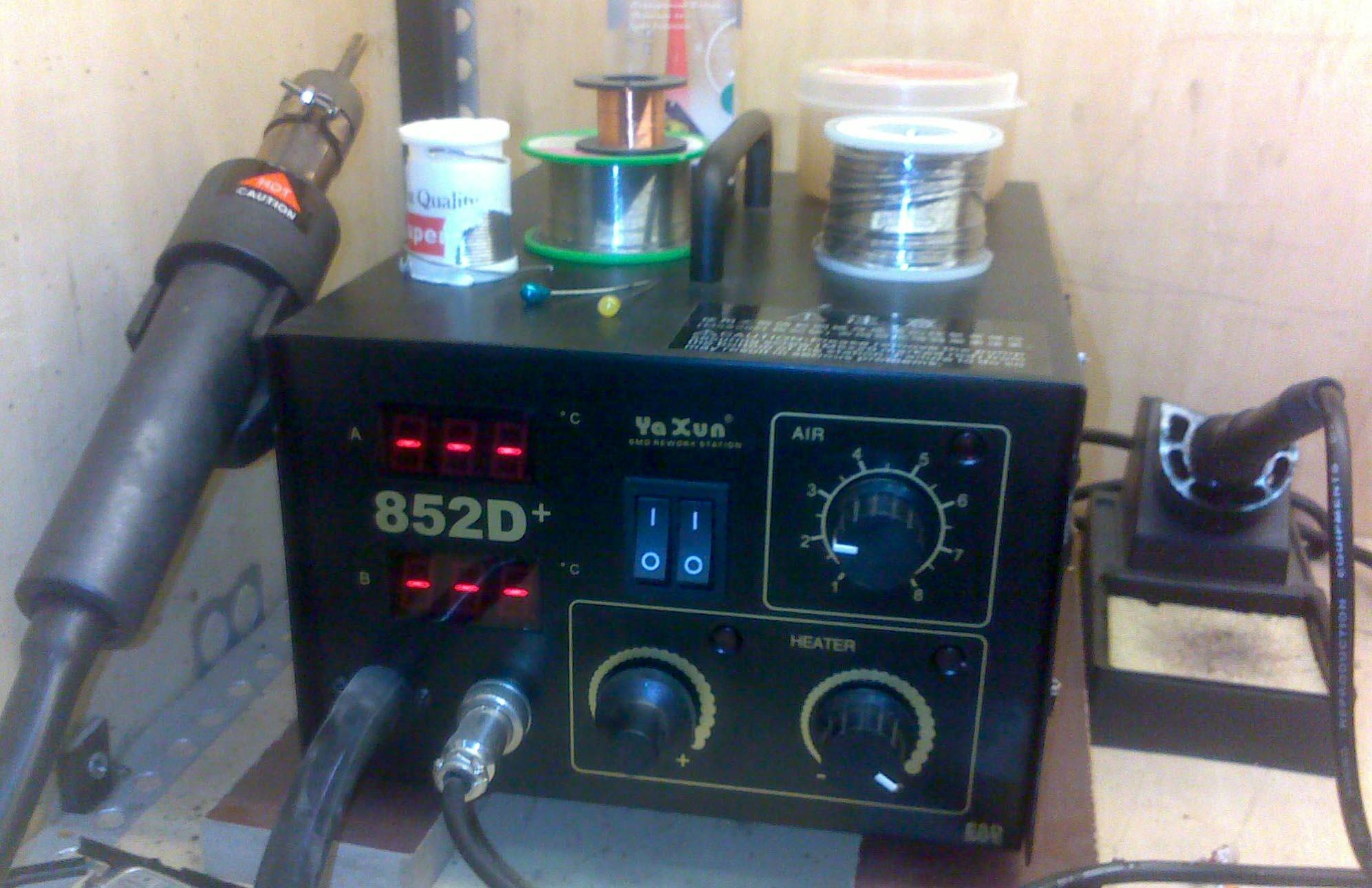 جهاز تلحيم Heat Gun تنخفض حرارته بشكل سريع