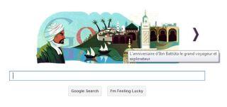 غوغل يحتفي بابن بطوطة في دكرى ميلاده Google rend hommage à Ibn Batouta