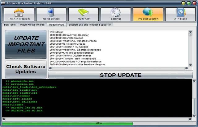 هام بخصوص الاصدار الجديد 7.20 (تجربة لأصلاح السوبر دونجل ل 6700c )