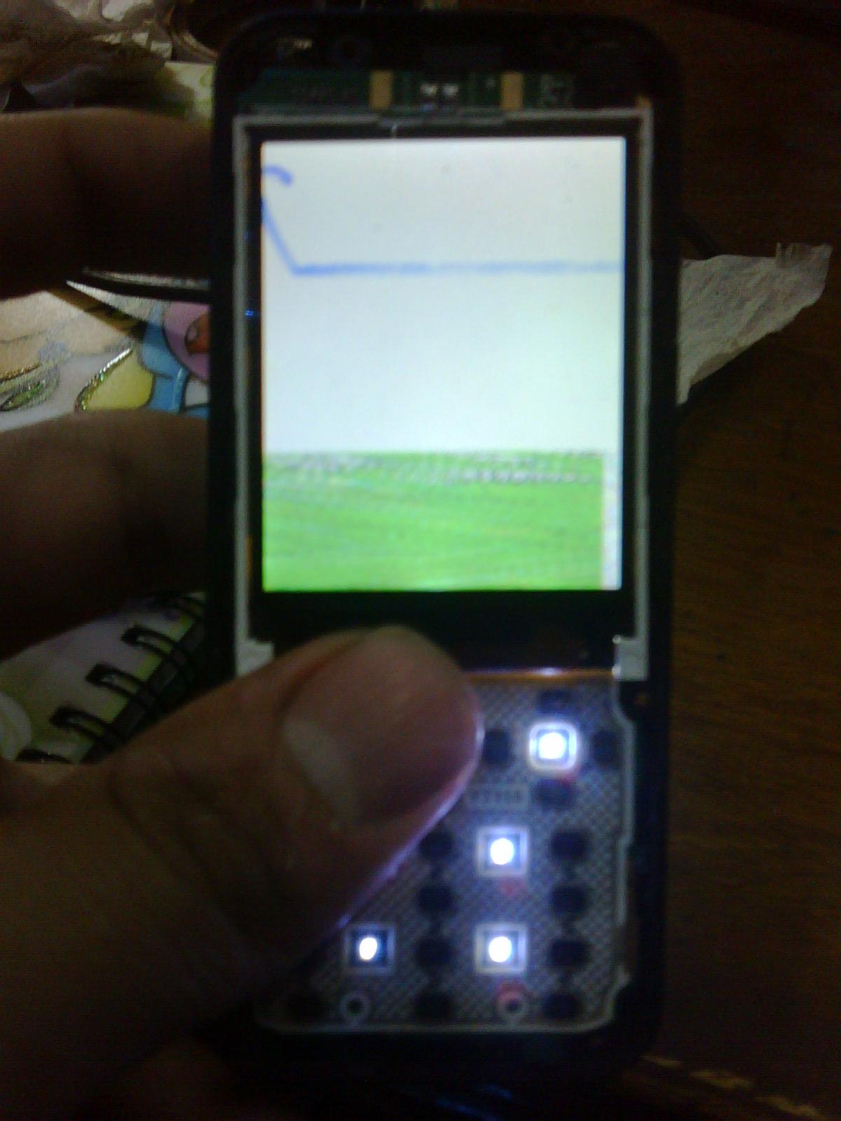 مشكله شاشه فى جهاز 6120 صينى