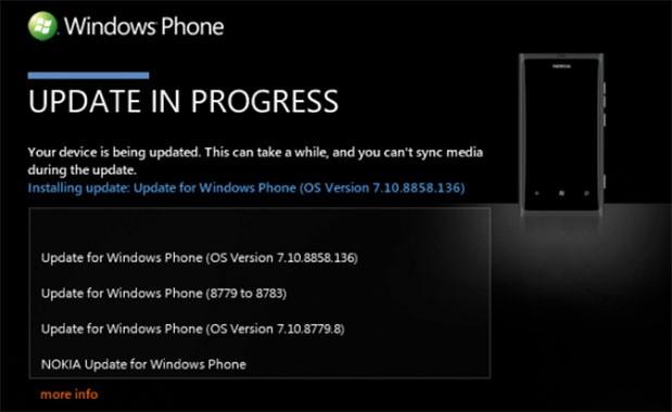 الهاتف Nokia Lumia 800 يحصل على تحديث إلى نظام الويندوز فون 7.8 بشكل رسمي