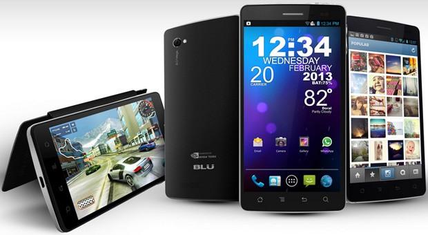 شركة BLU Products تكشف عن 3 هواتف محموله بمعالج تيجرا 3