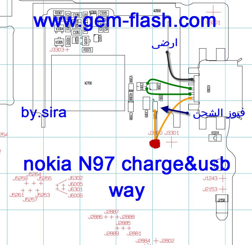 نوكيا n97 الكبير لا يحس بالشحن