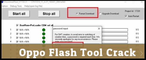 Download Oppo Flash Tool 2018 With Activation File