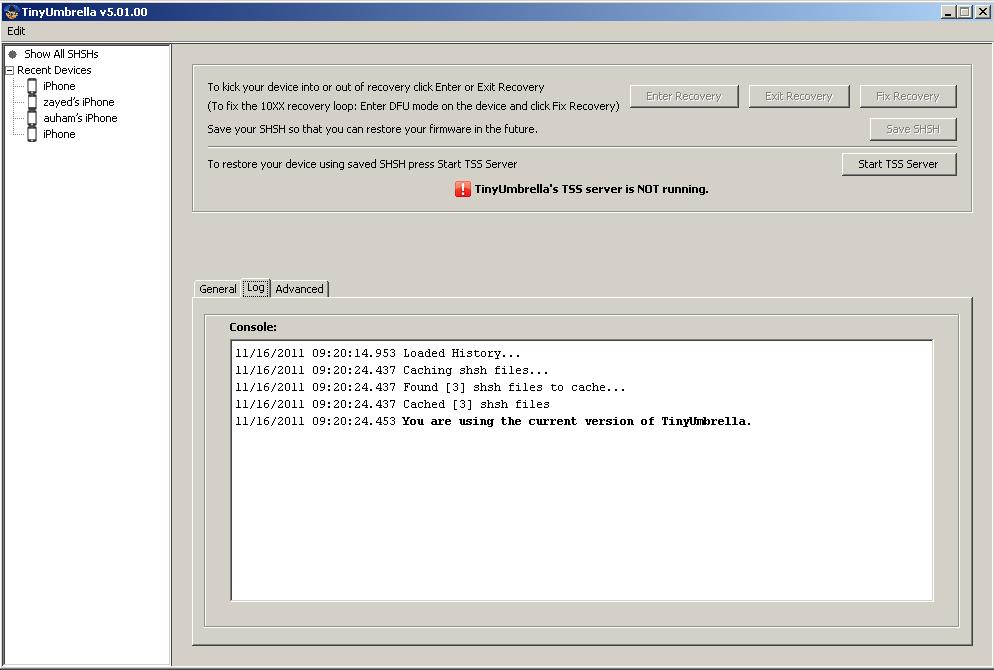 تحديث جديد لبرنامج tinyumbrella-5.01.00