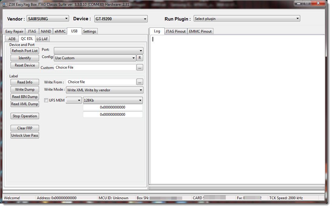 اخيرا دعم اجهزة ( qualcomm ( EDL USB MODE - الصفحة 1