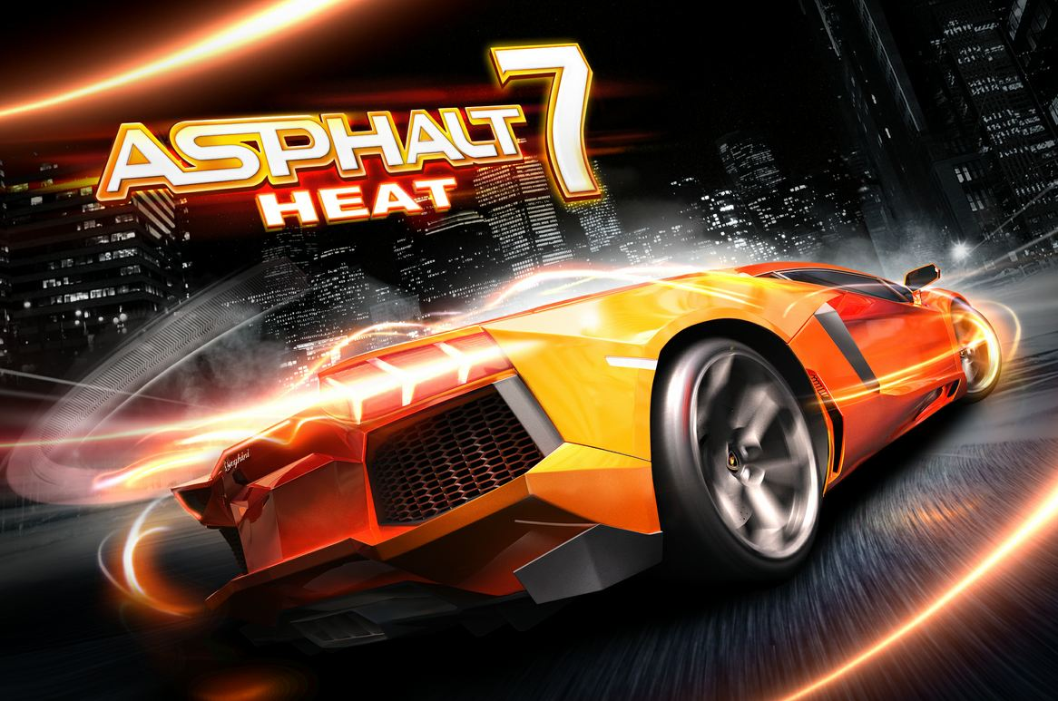اللعبة الشهيرة Asphalt 7: Heat أصبحت مجانية لفترة