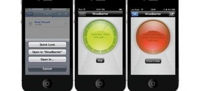 لاول مرة الجيم انتي فيروس للايفون antiVirus for iphone