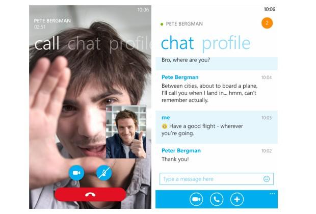 تحديث للسكايب على الويندوز فون يلغي ربط البرنامج بقائمة الأسماء People Hub
