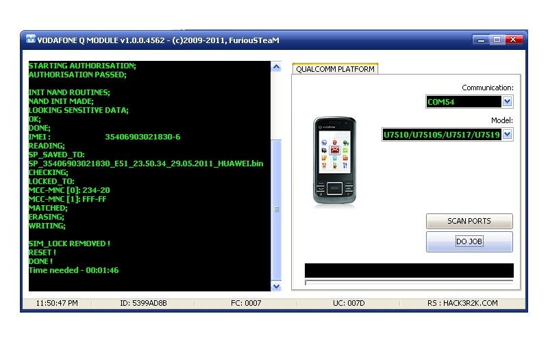 Furiousgold 2011 new update vodafone q huawei module v1.0.0.4574