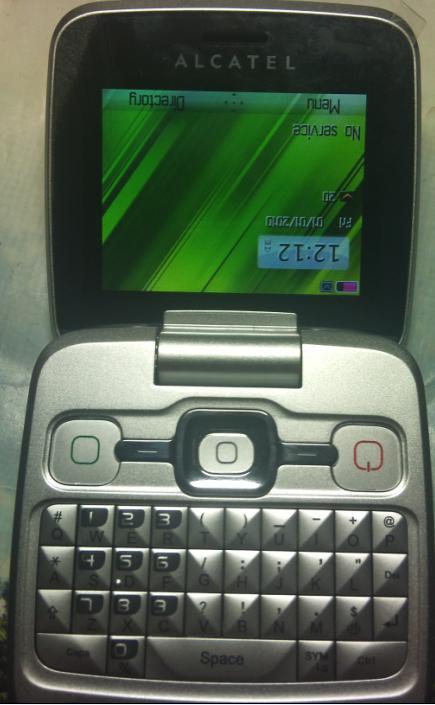 حل مشكل الشاشة المقلوبةلOT808على الفريوس غولد