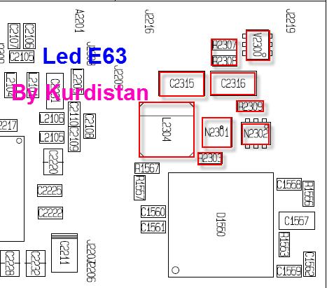 e63  بدون اضاءه